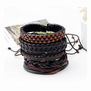 GENUINE LEATHER BRACELETS